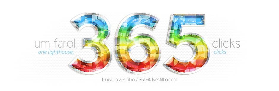 um farol, 365 clicks